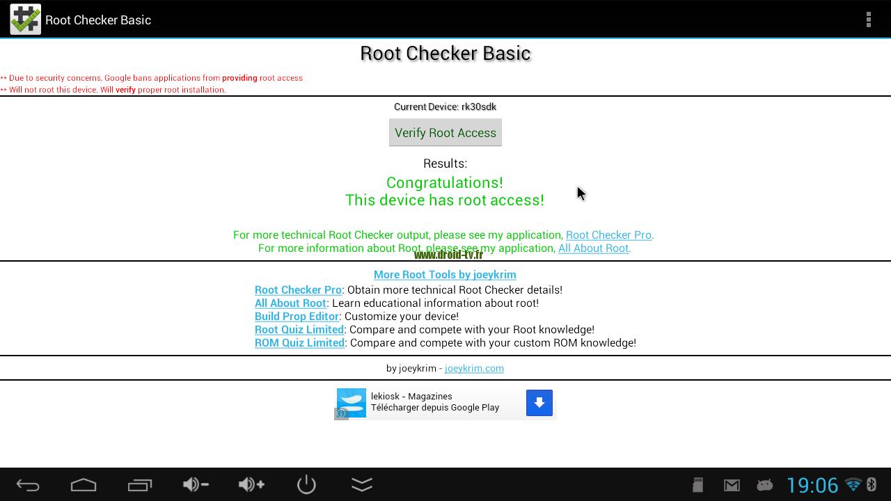 Rootchecker MK808B