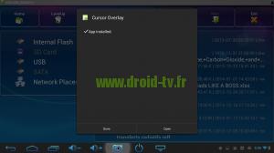 Lancer Cursor Overlay Droid-TV.Fr