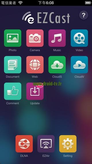 EZcast pour iOS