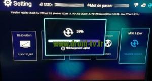 EZcast mise à jour Droid-TV.fr
