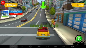 Crazy Taxi sur box Android M8 Droid-TV.fr