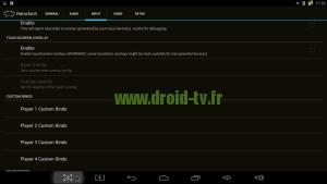 Désactiver touches virtuelles RetroArch box Android M8 Droid-TV.fr