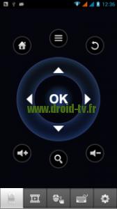 Mode télécommande Smart iRemote box Android M8 Droid-TV.fr