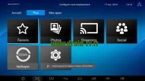 Accès Paramètres box Android M8 Droid-TV.fr