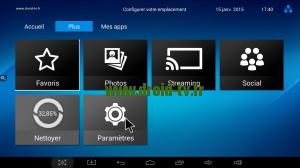 Accès paramètres Android Droid-TV.fr
