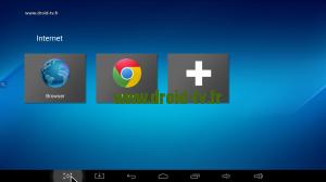 Choix explorateur Internet Android Droid-TV.fr