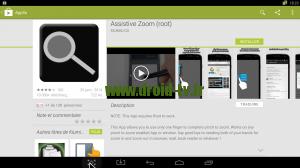 Assistive Zoom pour Android par Droid-TV.fr