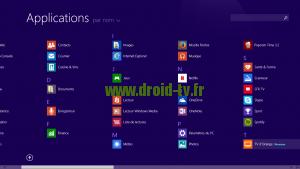 Exemple applications Windows 8.1 WinBox-TV.fr