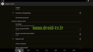 Choix Bitgames IME Droid-TV.fr