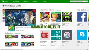 Windows Store Windows 8.1 WinBox-TV.fr