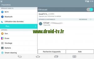 Choix dongle HDMI EZcast M2 pour Miracast sur Android Droid-TV.fr