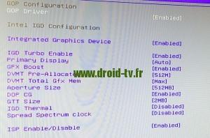 Parametres conseilles pour optimisation carte graphique WinBox-TV.fr