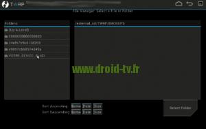 Choix ligne VOTRE_DEVICE_ID_ICI Droid-TV.fr
