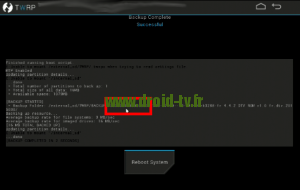 Releve du device ID via recovery alternatif Droid-TV.fr
