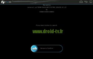 Valider device ID recovery alternatif Droid-TV.fr