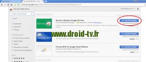 Ajouter extension Chrome Droid-TV.fr