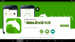Dolphin Browser pour Android Droid-TV.fr