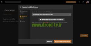 Ajouter une bibliotheque Plex Media Server Droid-TV.fr