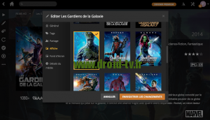 Changement affiche film jaquette Plex Media Server Droid-TV.fr