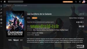 Fin de mise a jour manuelle titre de film affiche jaquette Plex Media Server Droid-TV.fr