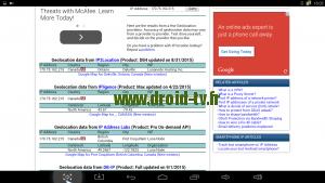 Geolocalisation IP avec Hola VPN gratuit Droid-TV.fr